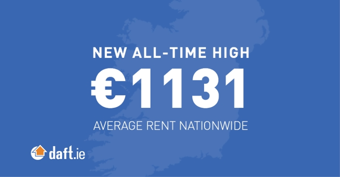 New all-time high average rent